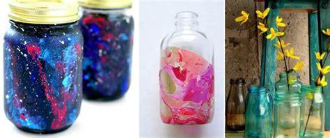 como pintar frascos de vidrio  ideas faciles  bonitas