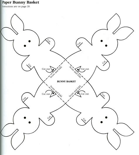 easter bunny cut out template 89047 cut out of charlotte free coloring pages