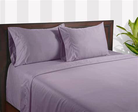 color sense lavender 400 thread count cotton silky touch