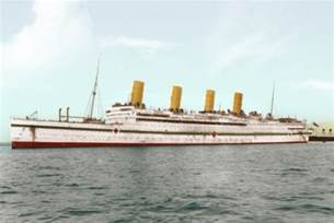 hmhs aquitania and rms olympic by rms olympic on deviantart