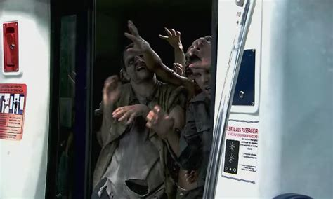 prank train zombie zombies woman silvio santos subway program ibtimes india