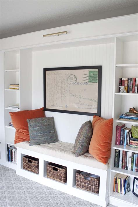 Ikea Bookcases And Shelves by Office Makeover Reveal Ikea Hack Built In Billy