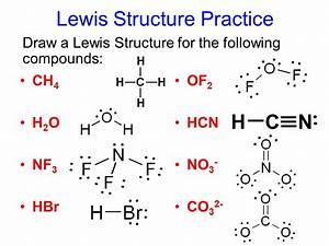 Covalent Bond Lewis Structure Practice