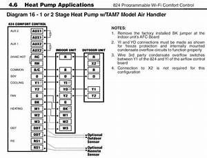 Air Conditioning Wiring Diagrams Trane