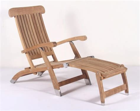 Teak Steamer Chair Fittings by Sea Furniture Sea Marine Hardware Yacht Deck Seating