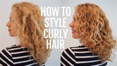 style curly hair  frizz  curls youtube