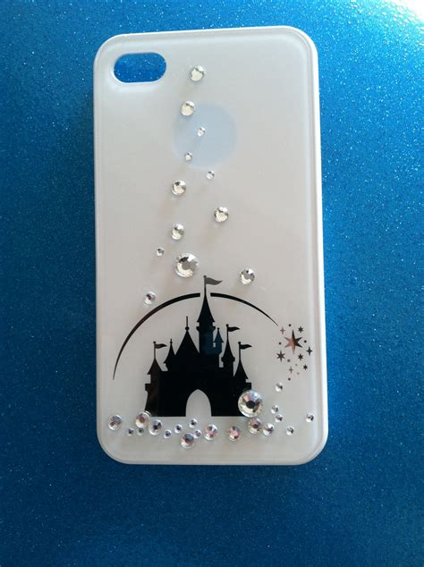 disney iphone cases iphone 4 and iphone 4s disney castle swarovski crystals by