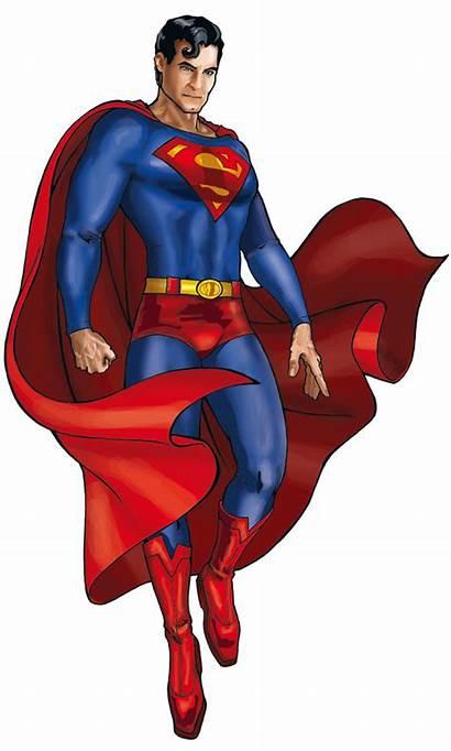 Superman Fan Cartoon Background Pose Clipart Superhero
