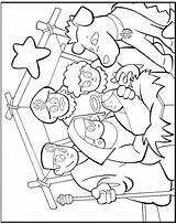 Wise Coloring Three Jesus Pages Magi Activity Colouring Christmas Bible Kings Testamento Craft Popular Sketchite Guardado Desde Coloringhome sketch template