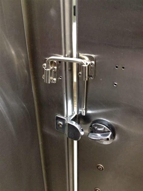 interesting bathroom stall door latch hey it works yelp