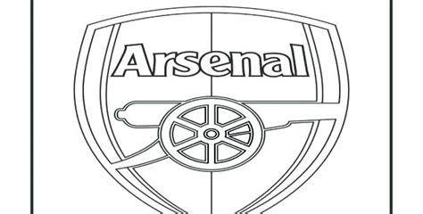 Arsenal Coloring Pages Democraciaejustica