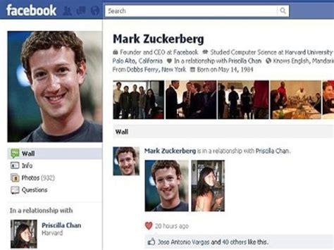 zuckerberg anuncia estar en una relaci 243 n cambio su