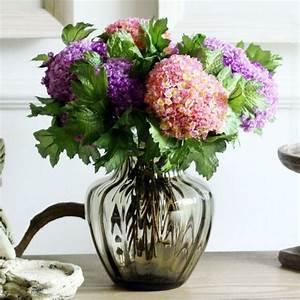 centre de table floral 110 idees de deco d39ete With chambre bébé design avec bouquet de fleurs original