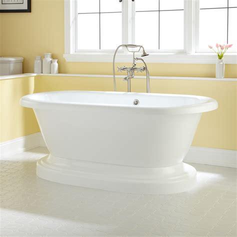 tub image avon acrylic pedestal tub bathroom