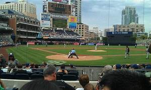 Braves Seating Chart View Petco Park Section 101 Home Of San Diego Padres