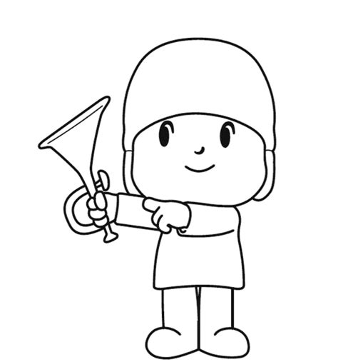 pocoyo coloring pages  printable coloring pages