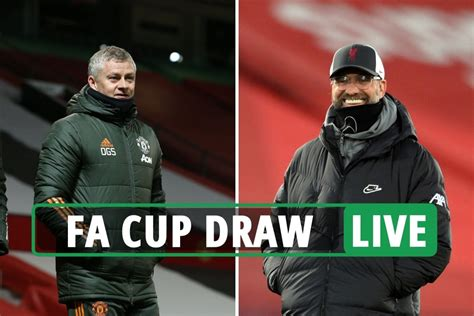 FA Cup 4th round draw AND 5th round draw LIVE: Man Utd vs ...