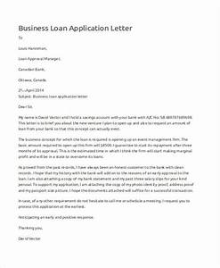 46 application letter examples samples pdf doc With business loan letter
