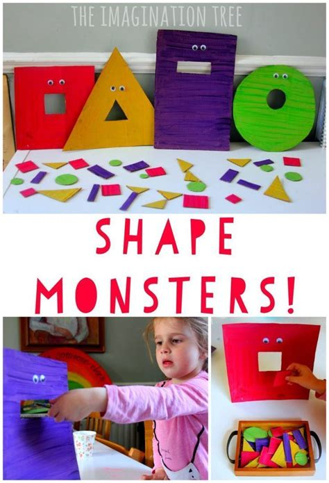 253 best images about shapes preschool theme on 857 | de85c0697bde71c838538d2bfb49b711 preschool shape activities kindergarten math games