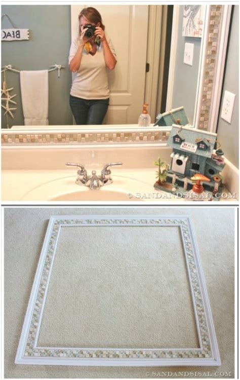 remarkably decorative diy mirrors  beautify  home