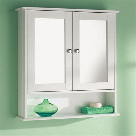 White Mirrored Bathroom Cabinets by Wall Mounted Bathroom Mirrored Cabinet 6234 P Ekm