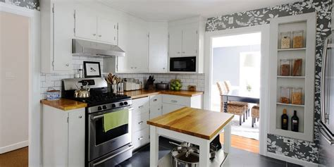 inexpensive ways  fix   kitchen