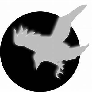 Raven Gray Clip Art at Clker.com - vector clip art online ...