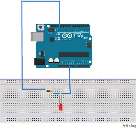 Make Simple Led Circuit Arduino Project Hub
