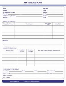 seizure action plan template image collections template With seizure action plan template