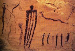 Ancient Cave Painting – Sego Canyon, Utah | Cave painting ...