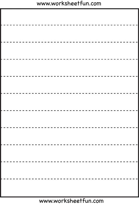 straight  tracing  worksheets  tracing