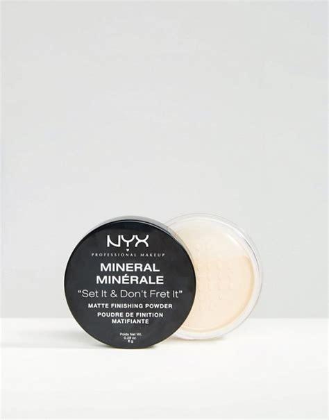 Nyx Mineral Finishing Powder nyx professional make up mineral finishing powder asos