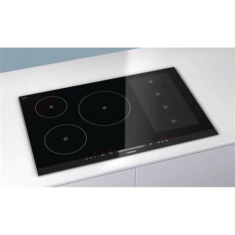 table de cuisson a induction table de cuisson induction siemens eh875mp17e flexinduction 80 cm