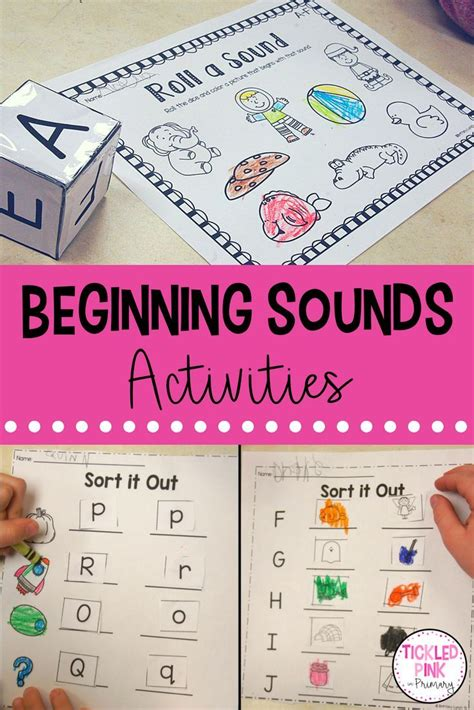 beginning sounds activities  prep  images