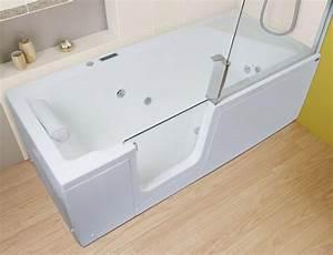 Porte Pour Baignoire : baignoire bain douche kinedo kineduo atout kro ~ Premium-room.com Idées de Décoration