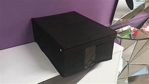Ordnungsbox Mit Deckel : ordnungsbox aufbewahrungsbox m in schwarz mit deckel ~ Udekor.club Haus und Dekorationen