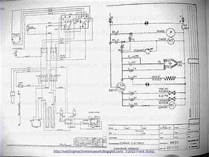 Washer Rama Museum   Salamini Mod  8855 Schematic Diagram