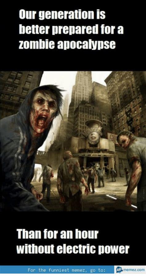 25+ Best Memes About Zombie Apocalypse Meme Funny | Zombie ...