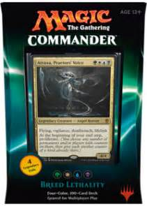 collectorsavenue mtg commander 2016 deck breed lethality green white blue black