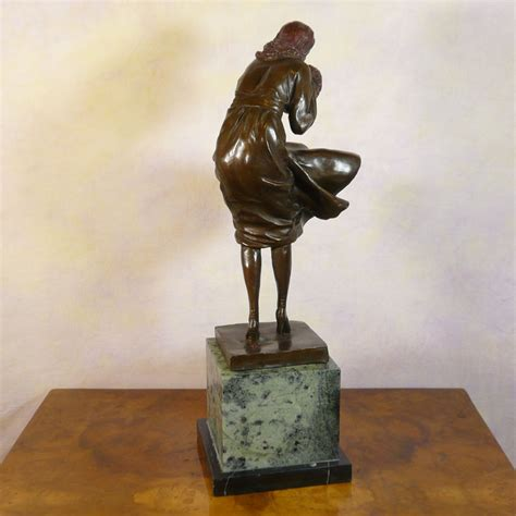 s bronze bronze sculpture deco statues