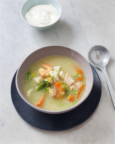 cuisine de poisson soupe de poissons islandaise pour 4 personnes recettes