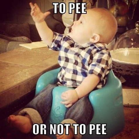 Pee Meme - friday fun memes just for moms