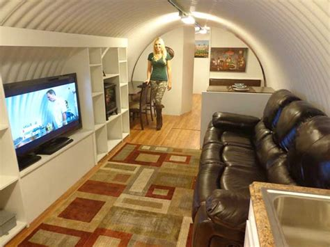 family builds  awesome underground shelter  future