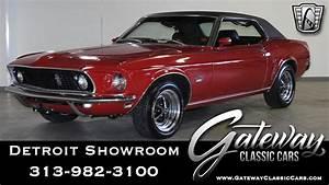 1969 Ford Mustang Grande Stock # 1400-DET - YouTube