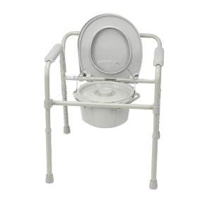 Handicap Portable Toilet Chair by Portable Commode Folding Bedside Handicap Toilet