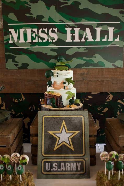Kara's Party Ideas Military Army Birthday Party Kara's