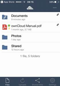 using the owncloud ios app 362 owncloud ios app manual With documents app owncloud