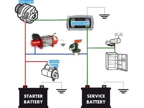 schema impianto seconda batteria