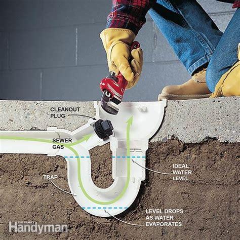 eliminate basement odor  sewer smells family