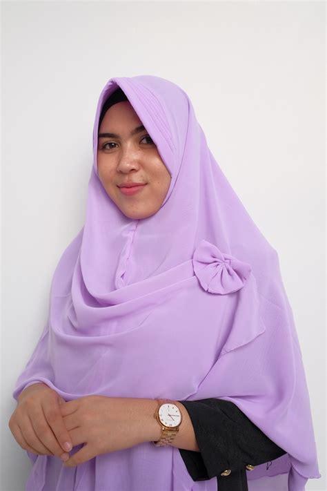 hijab syari khimar aisyah pet model  harga murah